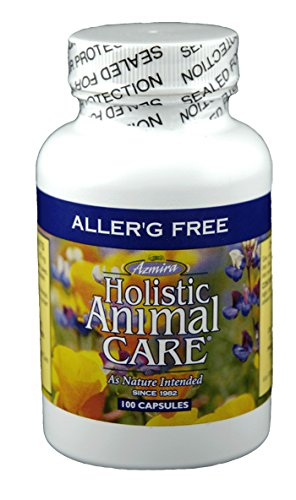 AllerG Free (100 Capsules) by Azmira Holistic Animal Care