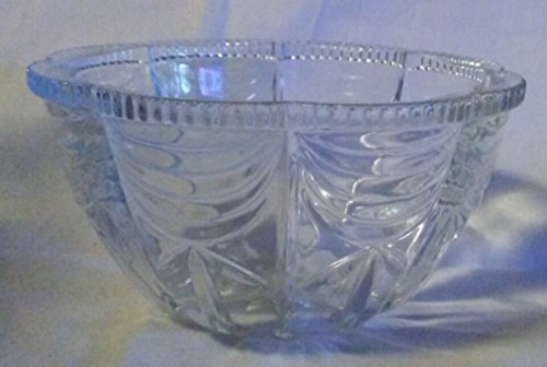 Vintage Pressed Glass Candy Bowl (BOTTOM ONLY)