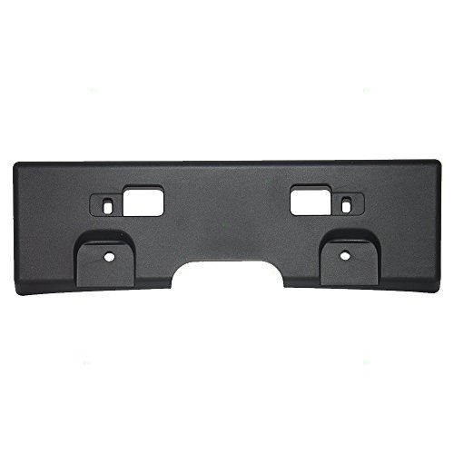 Front License Plate Holder Bracket Assembly Replacement for Nissan 96210-ET00A
