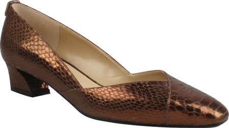 J.renee Womens Mikki Pump Brons