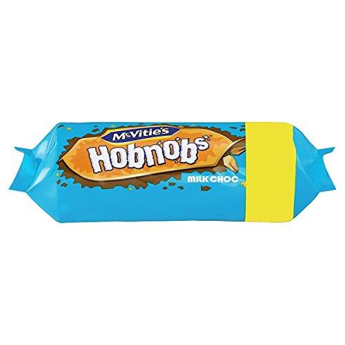 McVitie de leche Hobnobs chocolate 262g (paquete de 15 x 262g)