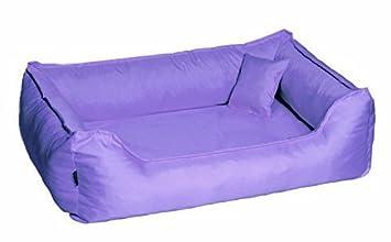 Cama para perro DONALD ORTO Vital Anti-pelo 150cm XXL lila Revestimiento de teflón con Colchón de confort: Amazon.es: Productos para mascotas