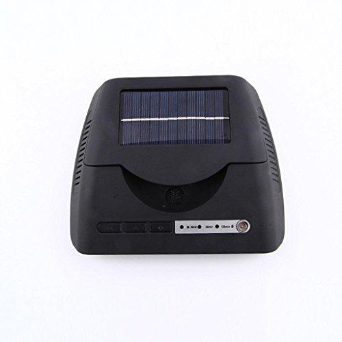 GOUGOU Automotive solar humidifier Car purifier Household humidifier Car USB air purifier by YANQI