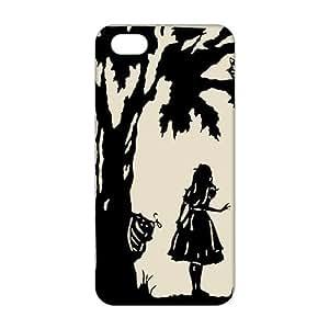 Alice anime cartoon 3D Phone Case For Sam Sung Galaxy S4 I9500 Cover