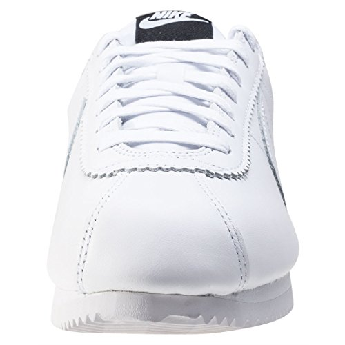 Nike De Blanc Fitness Leather Mixte Chaussures noir Classic Adulte Cortez Se wXq4Xzr