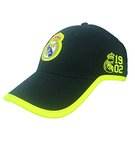 Icon Skull Hat - Icon Sport Real Madrid Cap, Official Product, Adjustable Real Madrid, Black/Neon Cap, New 2017