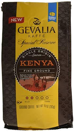 Gevalia Special Reserve Fine Ground Coffee Bag, Kenya, 10.0 Ounce