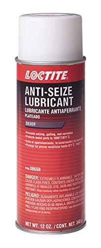 Loctite 623856 37658 Silver-Grade Anti-Seize Lubricant, 12-Ounce ()