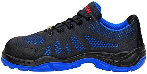 Low S1 Elten Eu blau Seguridad Azul 4 40 Esd Adulto Unisex De Finn Blue Zapatos TxEqIE