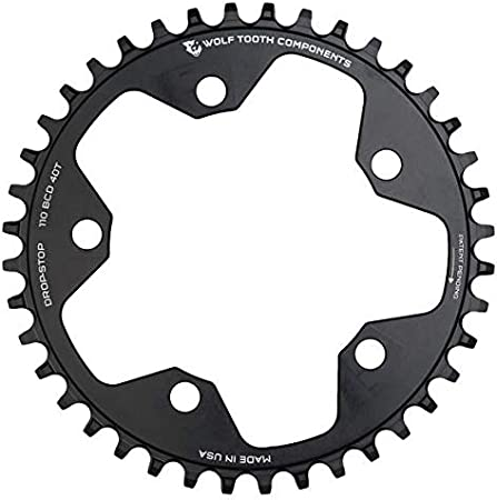 11 Wolf Tooth Drop Stop 1x Chainring for 10 12 Speed Eagle and Flattop AXS Chains