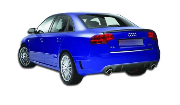 Extreme Dimensions Duraflex Replacement for 2006-2008 Audi A4 B7 4DR DTM Look Rear Bumper Cover 1 Piece