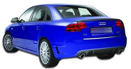 Bumper 4dr Fiberglass (2006-2008 Audi A4 S4 4DR Duraflex DTM Look Rear Bumper Cover - 1 Piece)