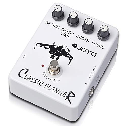 JOYO JF-07 Classic Flanger Pedal Metallic Flanger Sounds Guitar Pedal