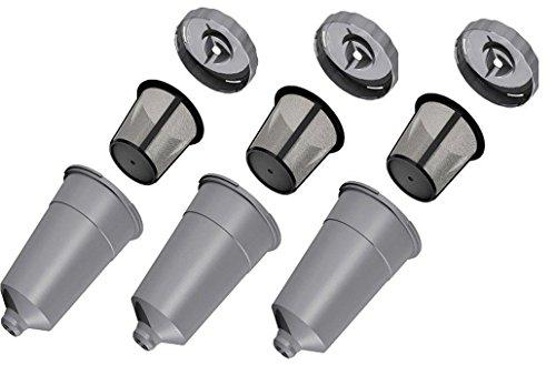 Keurig My K-cup Single Reusable Coffee Filter for Keurig B30, B31, B40, B41, B44, B45, B50, B55, B60, B65, B66, B70, B75, B77, B79, K10, K40, K45, K60, K65, K70, K75, K77, K79, B130, B140, B145, B200 (Reusable K Cup Keurig K45)
