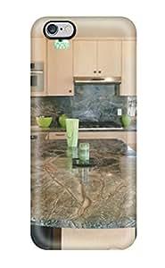 Iphone 6 Plus Case Bumper Tpu Skin Cover For Kitchen With Green Hew Granite Accessories