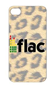 Music Logo Music Audio Lossless Edited FLAC Miscellaneous Green Edited TPU For Iphone 5s Case