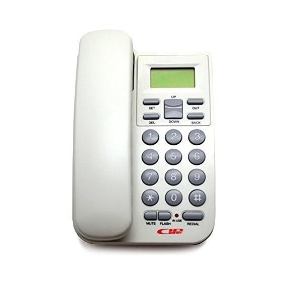Landline Corded KX-T1555 Telephone for Hone & Office