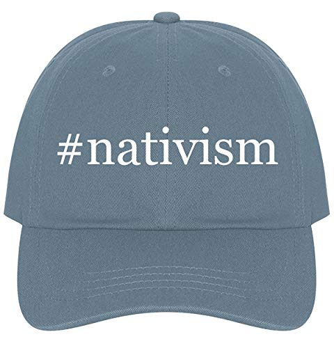 The Town Butler #Nativism - A Nice Comfortable Adjustable Hashtag Dad Hat Cap, Light -