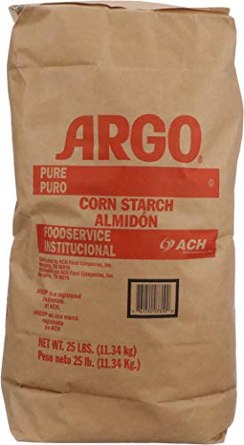 Argo Corn Starch Powder Pure 25 Pound Foodservice Bag and Argo Measuring Spoon by ARGO (Image #1)