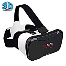 VR CASE 5 PLUS Universal Virtual Reality 3D Video Glasses for 4.0 to 6.3 inch Smartphones