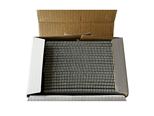 meite 16 Gauge 20 Degree 2-Inch Length Angled Finish Nails 2000 PCS/Box; 12 Boxes/Case (1 Box)