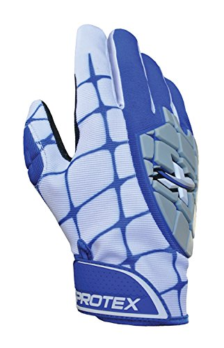 Xprotex 17 Hammrバッティング手袋、ロイヤル、Youth Medium B01EUEN6UC