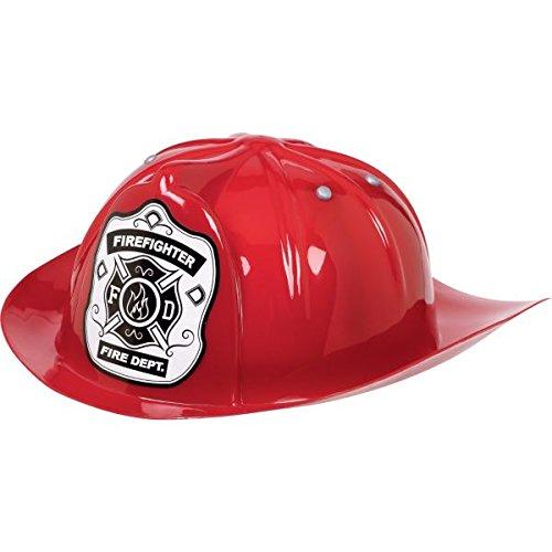 Amscan Red Fireman Hat - Child