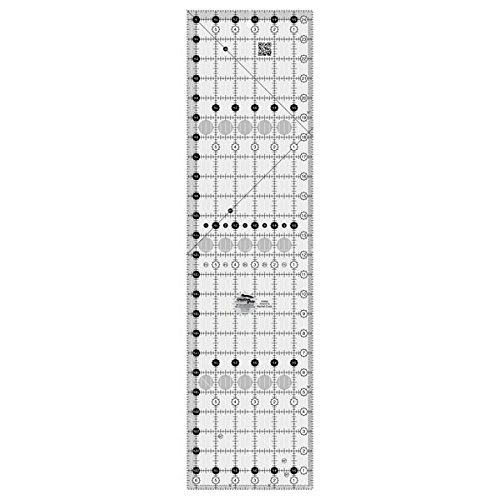 Creative Grids 6.5 x 24.5 Rectangle Quilting Ruler Template CGR24