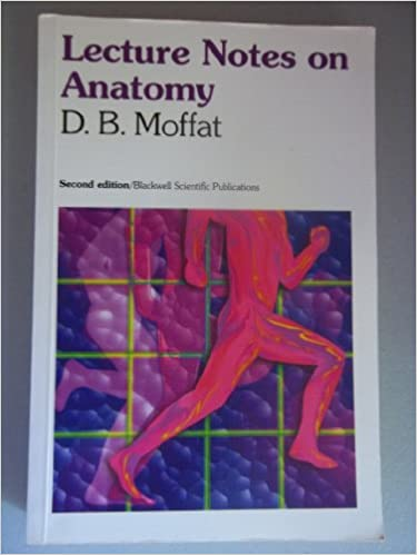Lecture Notes On Anatomy David B Moffat 9780632037681 Amazon