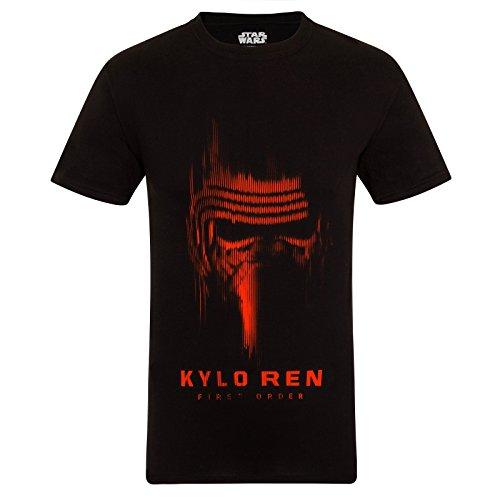 La guerra de las galaxias – El despertar de la fuerza – Camiseta oficial para hombre – Darth Vader/Yoda/Kylo Ren