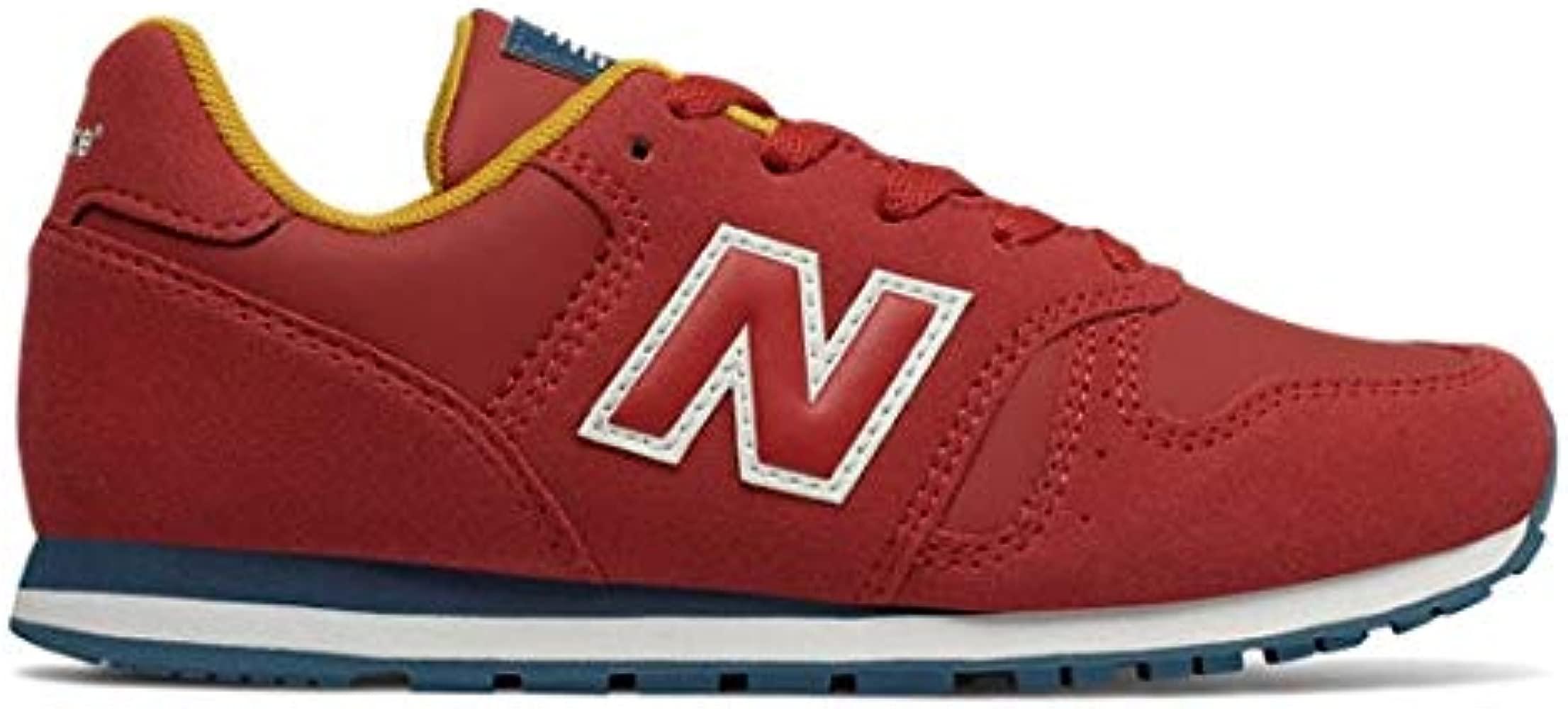 new balance rojas niño