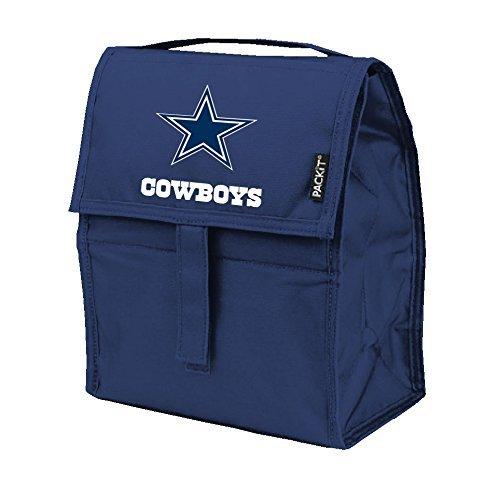 NFL Dallas Cowboys PACKit Freezable Lunch Bag, Blue