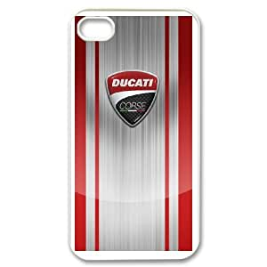 Ducati Logo Ideas Phone Case For iPhone 4,4S K33248