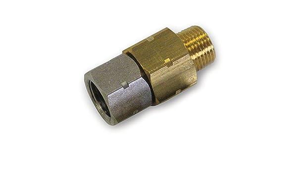 """Suttner 200301025 ST-301 Swivel 3//8/"""" M x 3//8/"""" F 5000 PSI"""