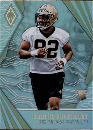 2018 Phoenix NFL  146 Marcus Davenport RC Rookie New Orleans Saints Rookie  Official Panini Football 9de7206ff