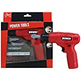 Power Tools Mini Toy Drill Set with 3 Drill Bits
