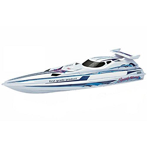36″ 2.4G Radio Control RC Speed Xcyclone Racing Boat Ship Watercraft – White