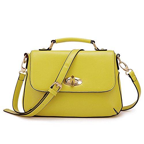 Pairs D, Borsa a zainetto donna giallo yellow