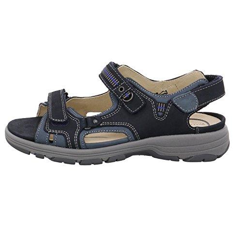 Waldläufer Women's 361004-691-335 Fashion Sandals marine azur KikecoWT