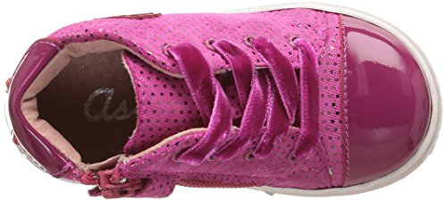 Aster Risette - Zapatos de primeros pasos Bebé-Niños Rosa - Rose (Fuchsia)