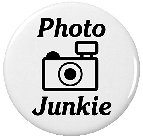 """Photo Junkie (Camera Photographer Humor) 2.25"""" Bottle Opener w/ Keyring from A&T Designs"""