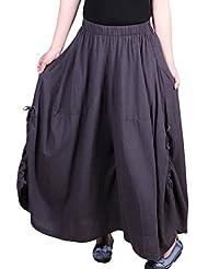 Mordenmiss Women's Culotte Wide Leg Pants