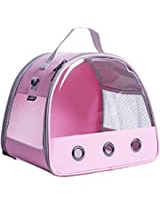 Small Animal Carrier Bag, Portable Guinea Pig Carrier for Hamster Cage, Bird Rat Guinea Pig Squirrel Carrier