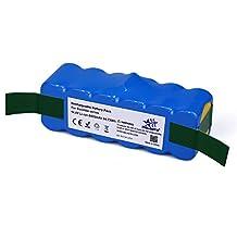 Melasta Higher Power 6400mAh 14.8V Li-ion Battery with Panasonic Cells for iRobot Roomba 500 600 700 800 Series 510 530 531 532 550 585 595 561 600 620 630 650 760 770 780 870 880 R3