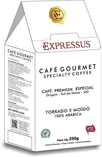 Café Expressus Torrado E Moído Gourmet Expressus Sabor