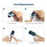 MIBEST Dual Color OLED Finger Pulse Oximeter