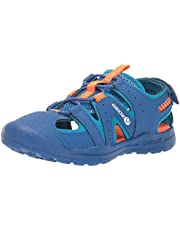 GEOX Vaniett Boy 3 SP Closed Toe Sandal Sport, blu