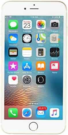 Apple iPhone 6 Plus, GSM Unlocked, 16GB - Gold (Refurbished)