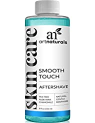 ArtNaturals Smooth Touch Ingrown Hair Removal Serum Aftershave for Razor Burns, Unsightly Bumps and Redness from Shaving or Waxing for Men/Women, Face/Body/Bikini Lines -Better Then Tweezers, 8oz.