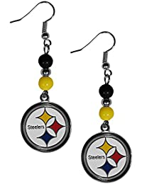 NFL Fan Bead Dangle Earrings
